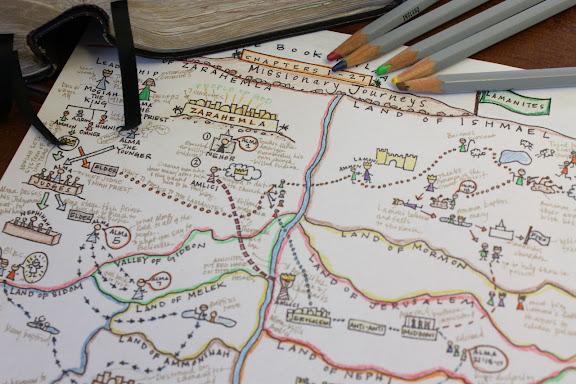 Book Of Alma Map Activity