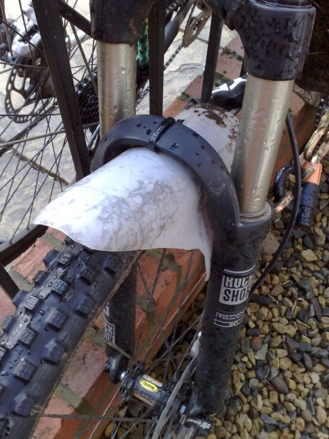 Cheap Tire Places >> Amazing! I want one! DIY front fender! - Singletrack Magazine
