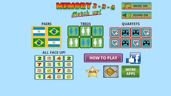 Trainer memory game- screenshot thumbnail