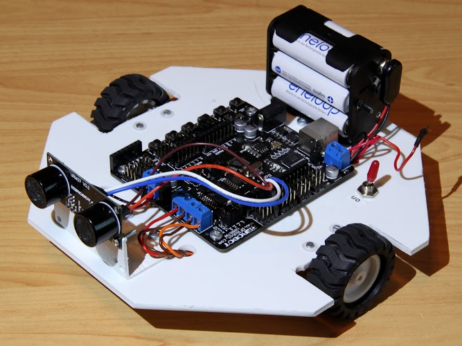 MASHR – My Arduino Start Here Robot – Robotfreak Blog