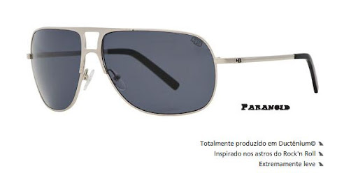 546e30d2cd273 Óculos HB de Sol Unissex Paranoid