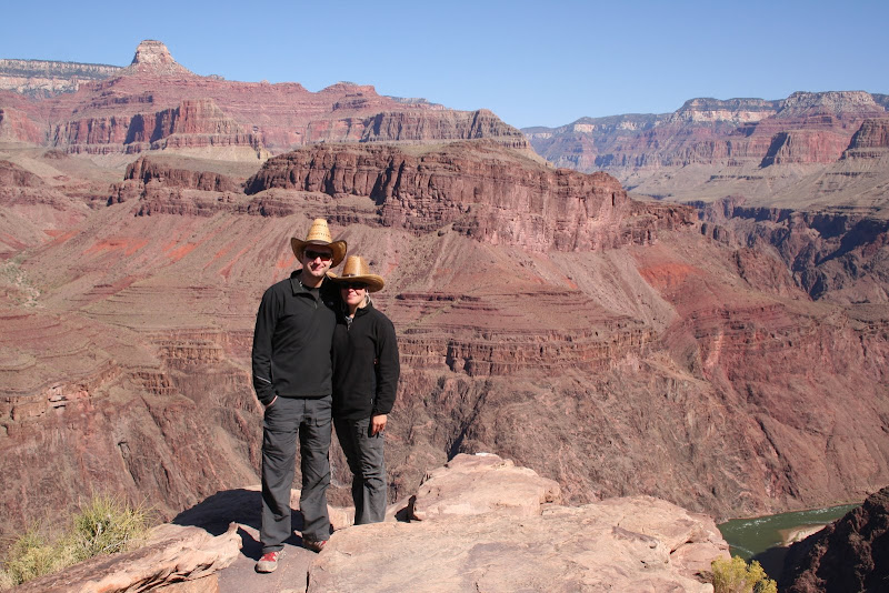 Di and myself in the canyon