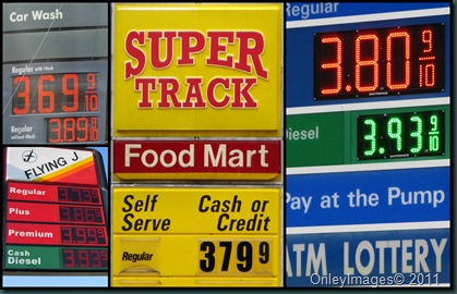 gas prices collage