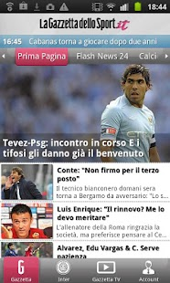 Gazzetta Mobile - screenshot thumbnail