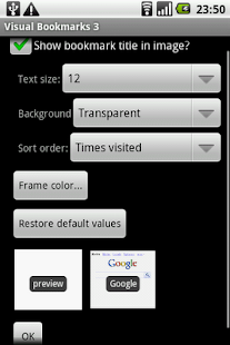 Visual Bookmarks pro - screenshot thumbnail