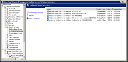 09-03-30 WSUS PowerShell Released