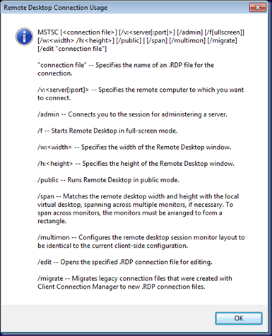 MPECS Inc  Blog: Windows 7 – Remote Desktop Multi-Monitor