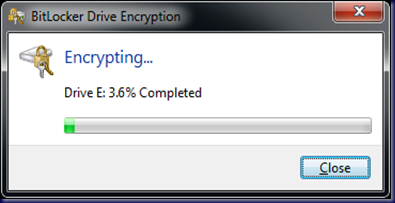 09-10-14 BitLocker To Go - 12 - Encrypting at 2250Hrs
