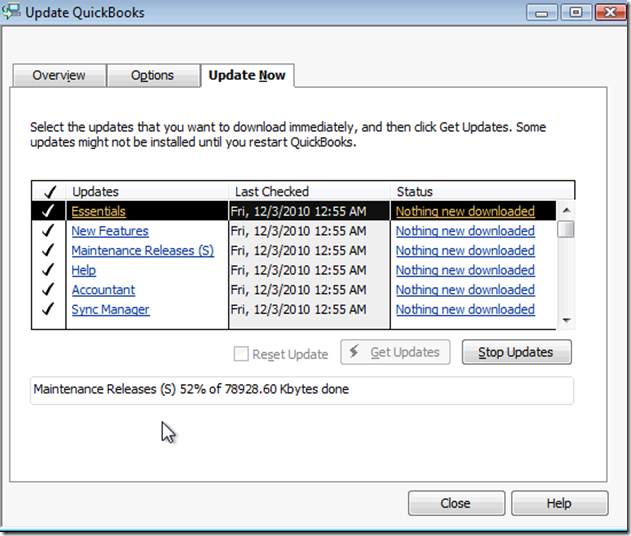 MPECS Inc  Blog: US QuickBooks 2011 R1 – Third Party Components