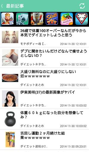 ダイエットまとめニュース