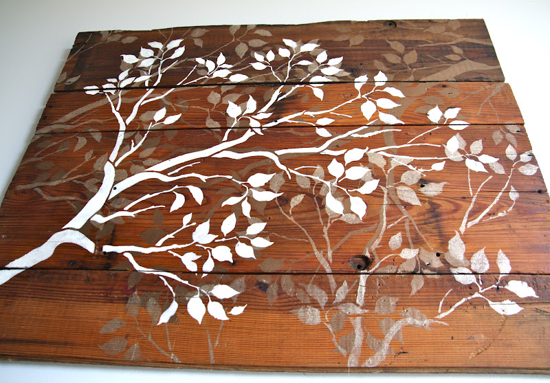 Branch Wall Art remodelaholic | diy art project: branches wall art, guest