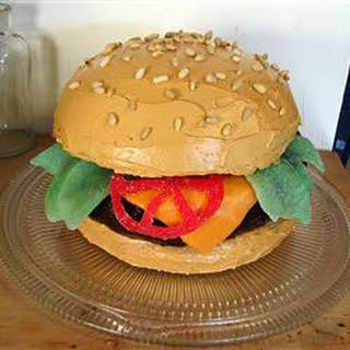 Hamburger Cake.