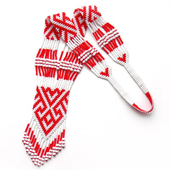 Купить украшения из бисера украина