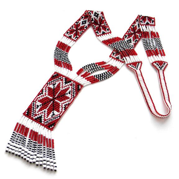 купить гердан (гайтан ) со славянскими символами Anabel