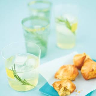 Rosemary Vodka Tonics.