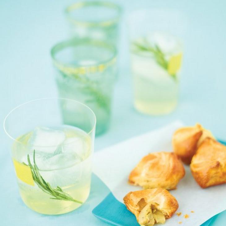 Rosemary Vodka Tonics Recipe