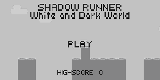 Shadow Man Runner 2D
