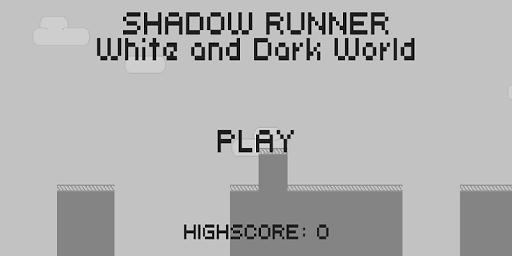 Shadow Man Runner 2D