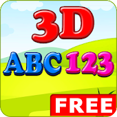 Kids 3D ABC 123