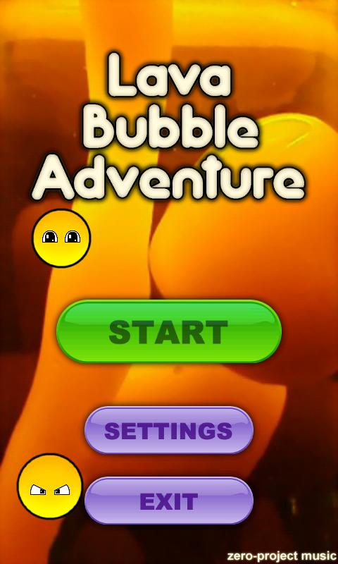 Lava Bubble Adventure FREE- screenshot