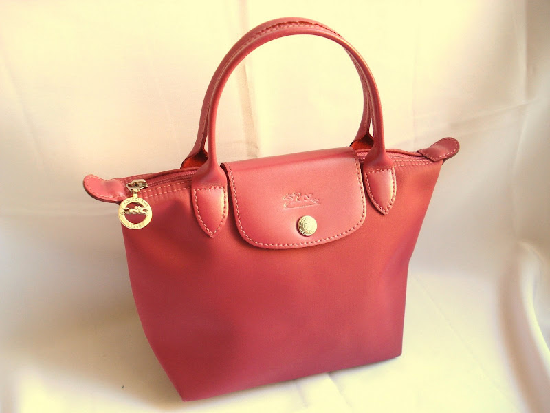 Auth Longchamp Modele Depose Le Pliage Mini Tote Bag Ebay