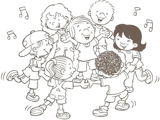 Juegos Dibujos Para Colorear Infantiles: JUEGOS Y DEPORTES INFANTILES DIBUJOS PARA COLOREAR DE