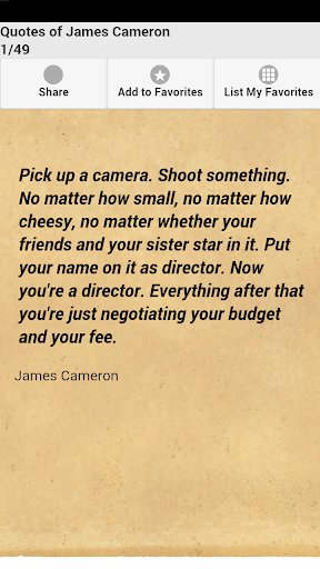Quotes of James Cameron
