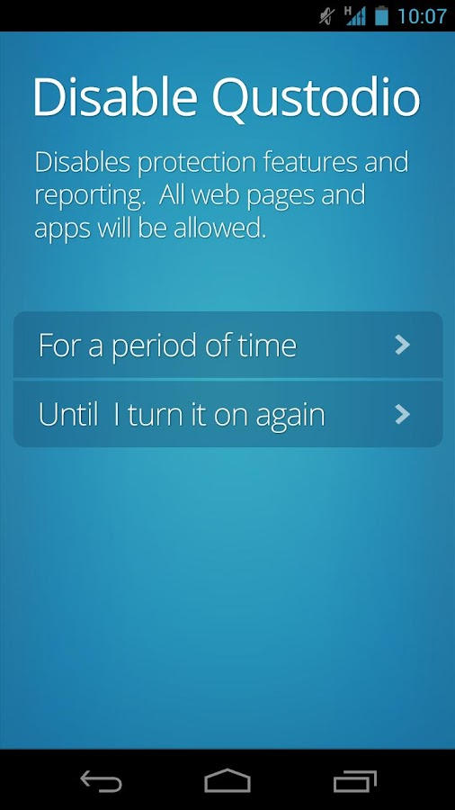 Qustodio Parental Controls - screenshot