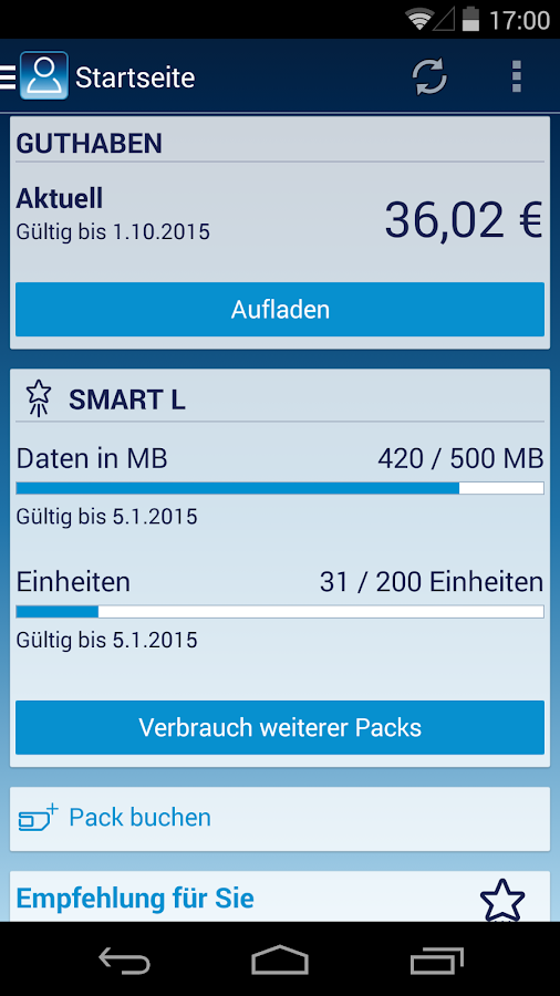 Mein o2 - screenshot