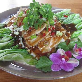 蒜泥白肉 Pork with garlic and oyster sauce – for mother's day.