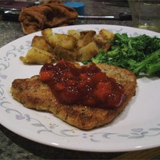 Breaded Pork Tenderloin.