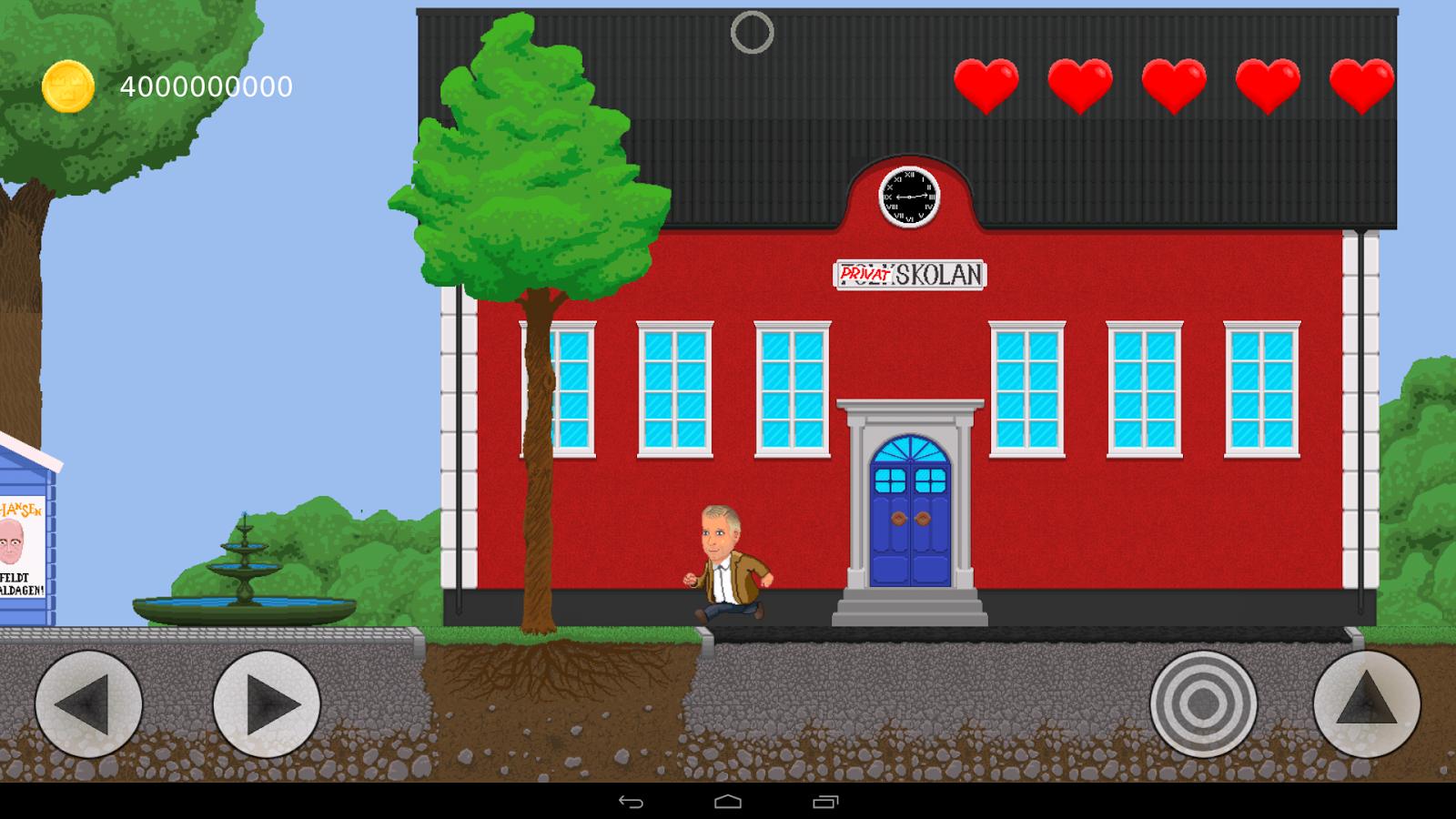 Spelet om Välfärden- screenshot