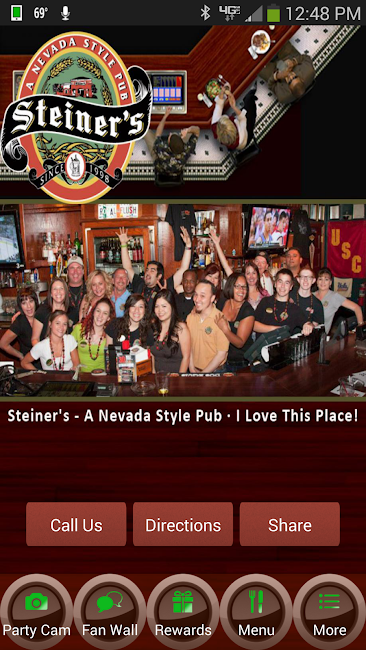 #1. Steiner's - A Nevada Style Pub (Android)