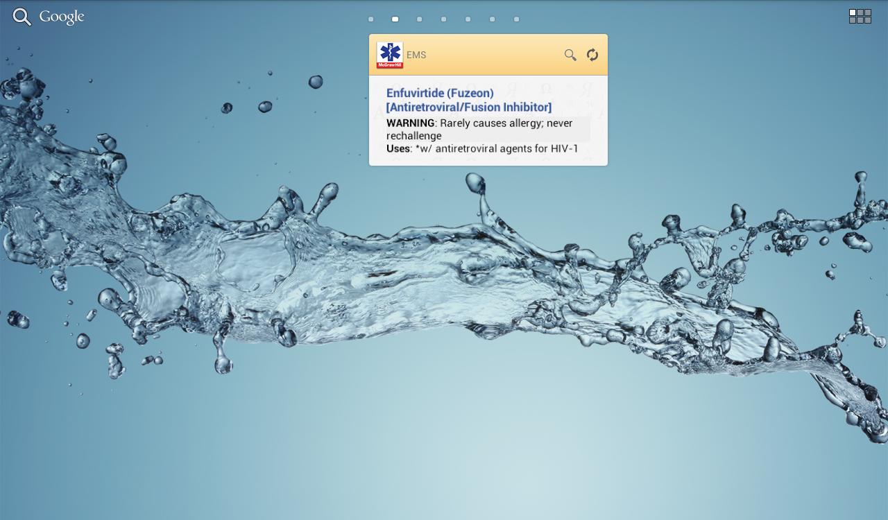 EMS Pocket Drug Guide TR - screenshot