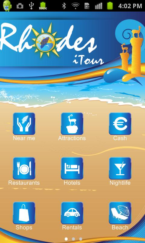 Rhodes iTour Travel Guide - screenshot