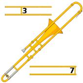 Trombone Slide Position Chart