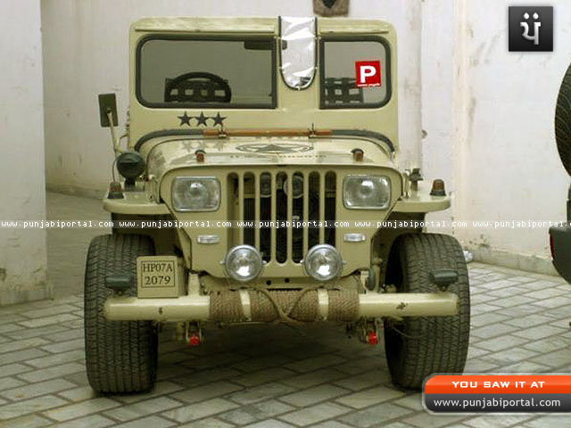 Willy Jeeps In Punjab A Photographic Collection