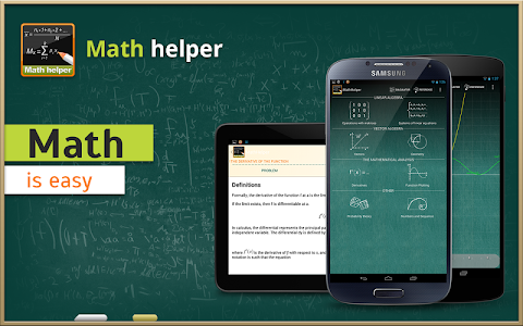 Math Helper - Algebra Calculus v3.1.1