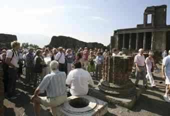Ashes to ashes: neglect takes its toll on Pompeii's Roman ruins