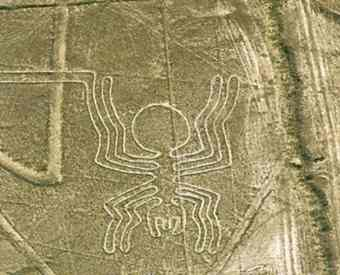 Nazca Lines in Ica, south of Lima.