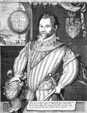 Francis Drake captained England's swell