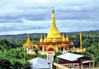 Golden Temple in Bandarban District.