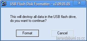 usb flashdisk formatter