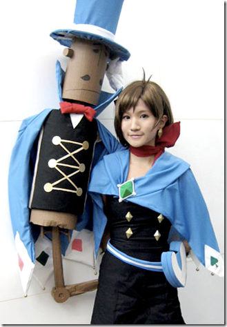 gyakuten saiban 4 / apollo justice: ace attorney cosplay - naruhodo minuki (trucy wright)