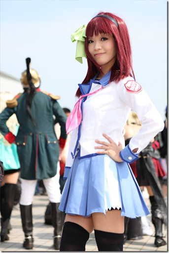 angel beats! cosplay - nakamura yuri from comiket 2010