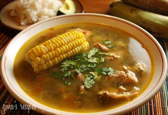 Colombian chicken sancocho skinnytaste sancocho is a hearty soup almost like a stew and is a traditional dish in the region of antioquia colombia that combines potatoes yuca corn forumfinder Image collections