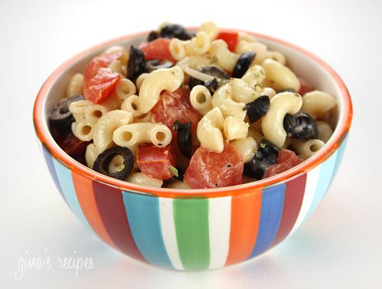 Macaroni Salad with Tomatoes | Skinnytaste