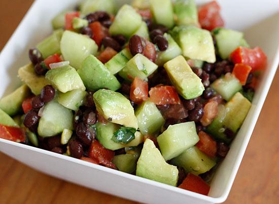 recipe: avocado tomato salad lemonade [31]