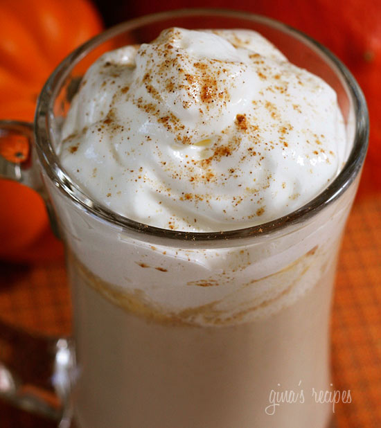 For the pumpkin obsessed, a low fat, low calorie skinny pumpkin spice latte you can make yourself. October is my birthday month and one of my favorite treats this time of year is Starbucks' Pumpkin Spiced Latte. What a great way to start your morning!