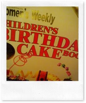 Vintage Train Birthday Cake